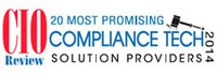 20 Most Promising Compliance Tech Solution Providers - 2014